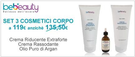 Set 3 Cosmetici Linea Tecnica Corpo BeBeauty®