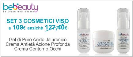 Set 3 Cosmetici Linea Tecnica Viso BeBeauty®