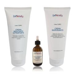 Set composto da 3 Cosmetici Linea Tecnica per il Corpo di BeBeauty.