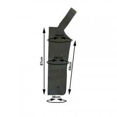 Bracciale Sovrex a 4 camere pressoterapia PressoMassaggio® Mesis® Plus+
