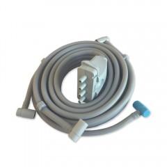 Connettore singolo per la fascia addominale/glutei delle pressoterapie Xpress Beauty e Top Medical a 4 camere della Mesis