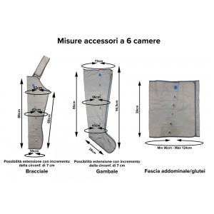 Misure applicatori/accessori Mesis Medical & Beauty