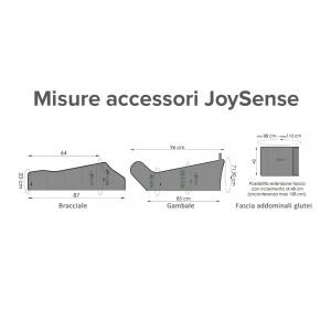 Misure degli accesori della pressoterapia PressoEstetica Mesis JoySense 3.0