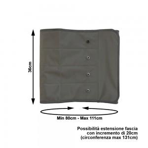 PressoMassaggio® Plus+ misure fascia addominale/glutei  di tipo Standard